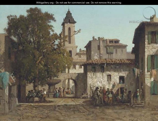 The town square - Fabius Germain Brest - WikiGallery.org, thefabius town