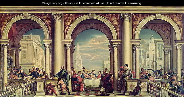 The Feast in the House of Levi - Paolo Veronese (Caliari ...