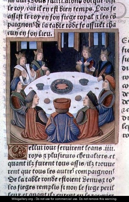 King Arthur And The Knights Of The Round Table From Lancelot Du Lac