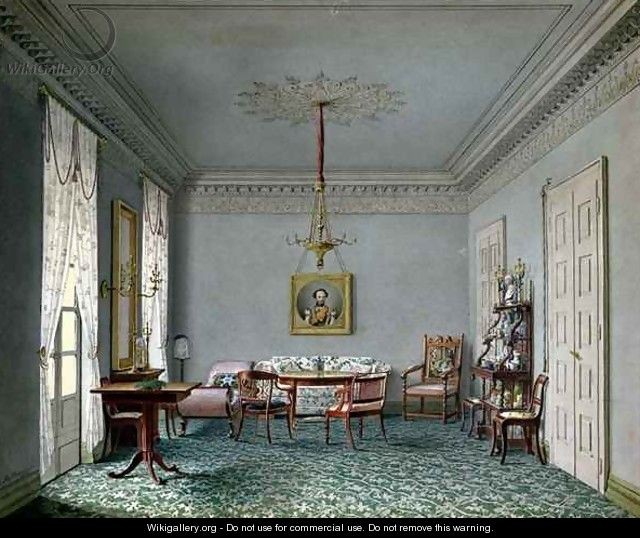 Drawing room interior in the palace in stuttgart for Interio stuttgart
