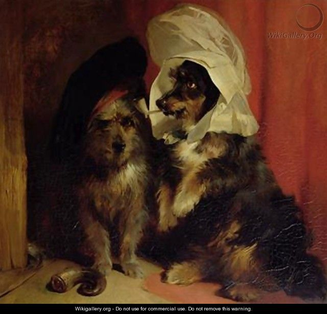 comical dogs sir edwin henry landseer the largest gallery in the world. Black Bedroom Furniture Sets. Home Design Ideas
