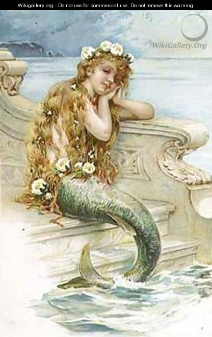 Little Mermaid E S Hardy Wikigallery Org The Largest