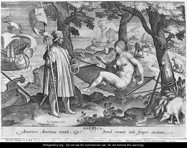 the early life and role of amerigo vespucci in the discovery of the new world The role of amerigo vespucci in the history of the united states of america  the  first to effectively argue that the newly discovered lands were actually a new.