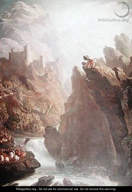 The Bard John Martin Wikigallery Org The Largest
