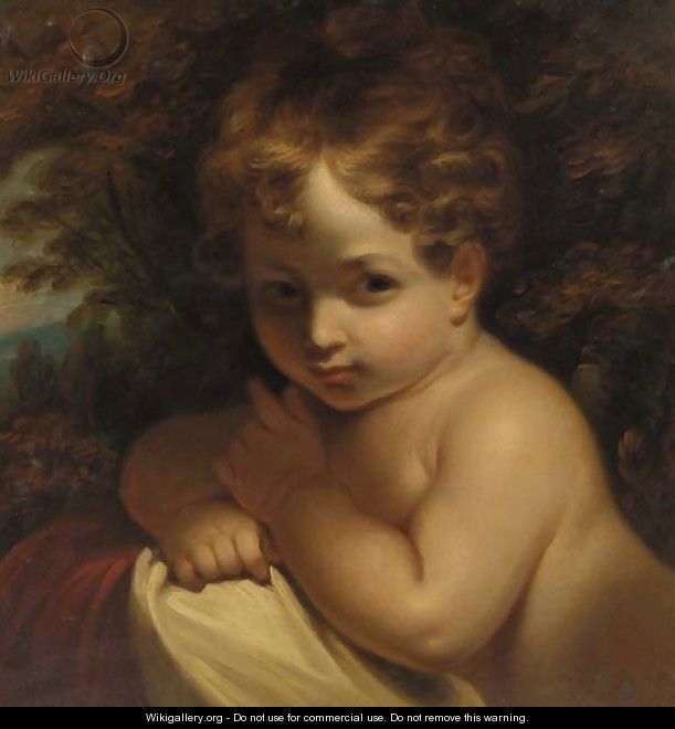 A young child - (after) Sir Joshua Reynolds - WikiGallery