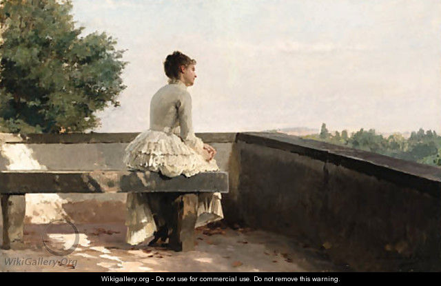 Untitled - Louis Emile Adan - WikiGallery.org, the largest gallery ...