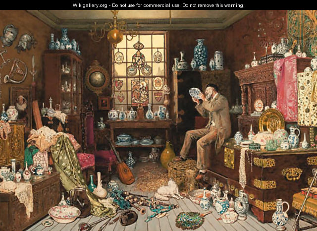 The Old Curiosity Shop - Myles Birket Foster - WikiGallery