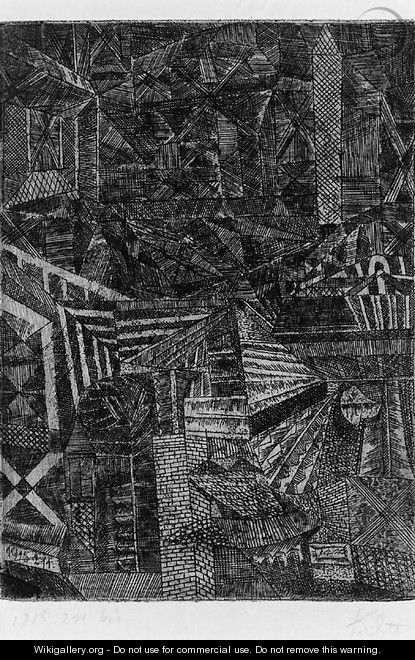 Spiegelndes Fenster Paul Klee Wikigallery Org The Largest