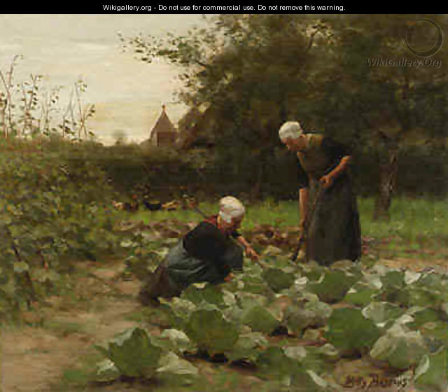 Tending The Garden Willy Martens The