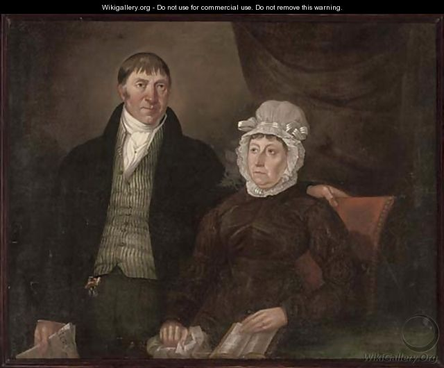 Portrait of a husband and wifePortrait Of A Husband And Wife