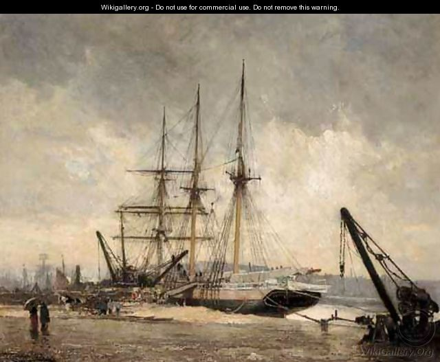 Emile Frederic Nicolle Oil Painting