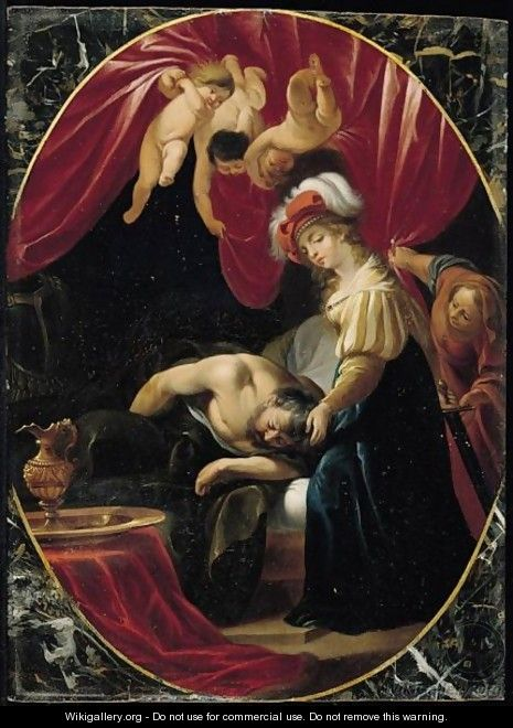 Judith And Holofernes - (after) Adam Elsheimer ...