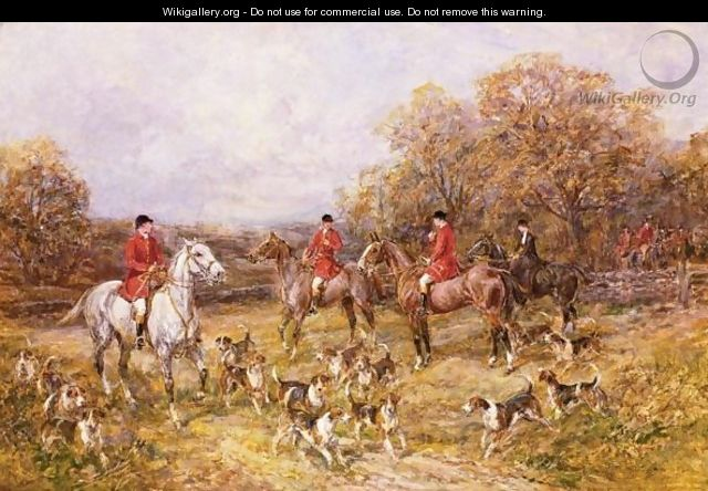 Fox Hunting Paintings For Sale