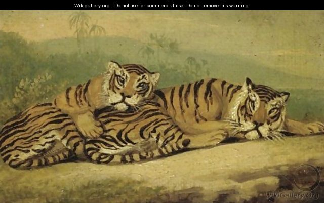 Five animal paintings samuel howitt wikigallery org the largest