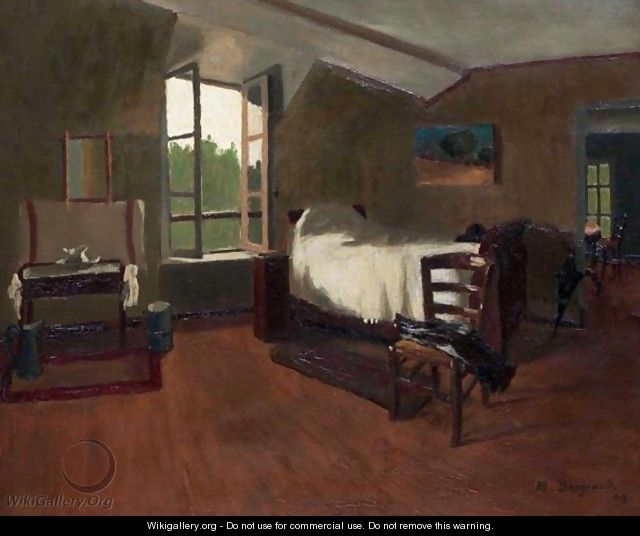 The Bedroom 1909 Marius Borgeaud The