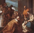 The Adoration of the Magi 1620s - Eugenio Cajes