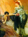 Unconscious Rivals Detail - Sir Lawrence Alma-Tadema