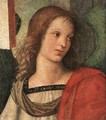 Angel Fragment Of The Baronci Altarpiece - Raphael
