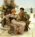 Courtship The Proposal - Sir Lawrence Alma-Tadema