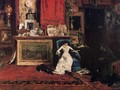 Interior Of The Artists Studio Aka The Tenth Street - William Merritt Chase