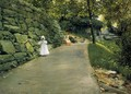 In The Park A By Path - William Merritt Chase
