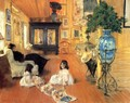 Hall At Shinnecock - William Merritt Chase