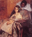 Dorothy And Her Sister2 - William Merritt Chase