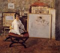 Did You Speak To Me - William Merritt Chase