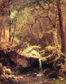 The Mountain Brook - Albert Bierstadt