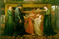 Dante's Dream at the Time of the Death of Beatrice 1871 - Dante Gabriel Rossetti