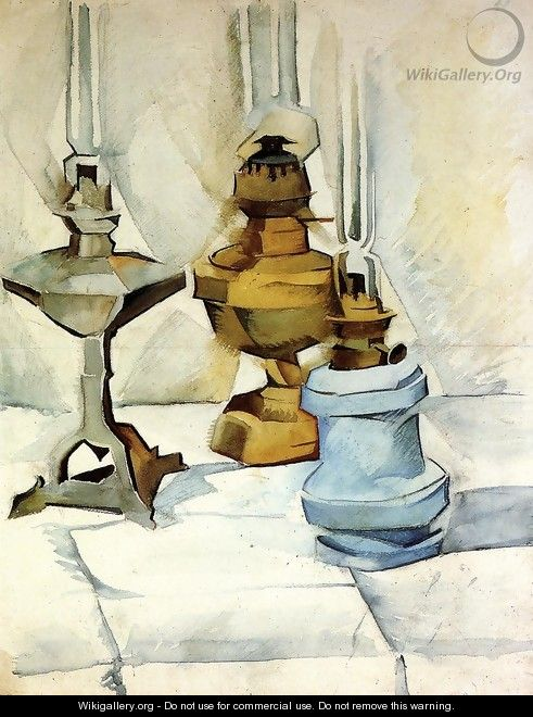 Three Lamps - Juan Gris