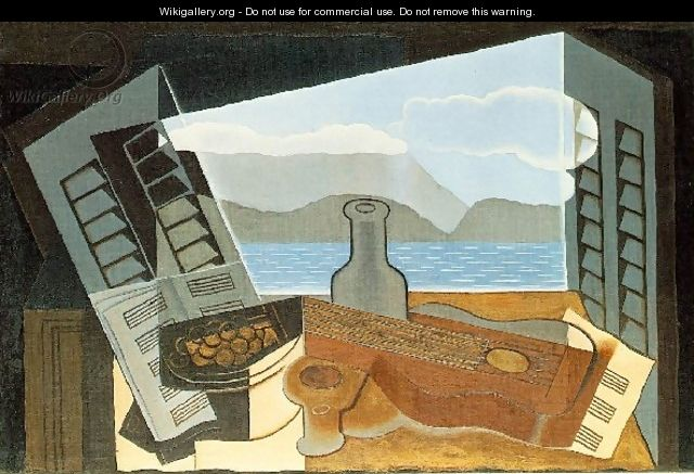 The Open Window - Juan Gris
