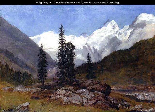 Rocky Mountain - Albert Bierstadt