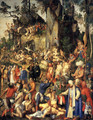 Matyrdom Of The Ten Thousand - Albrecht Durer
