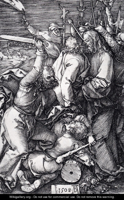 Betrayal Of Christ - Albrecht Durer