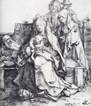 The Holy Family With St John The Magdalen And Nicodemus - Albrecht Durer