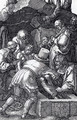 Deposition (Engraved Passion) - Albrecht Durer