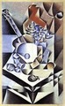 Still Life With Flowers - Juan Gris