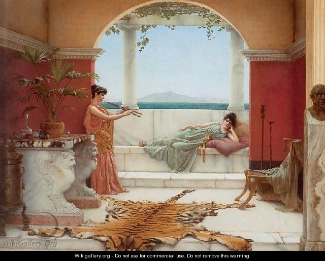 The Sweet Siesta Of A Summer Day - John William Godward