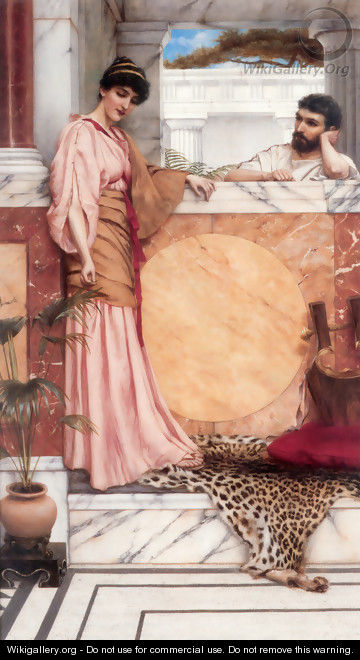 Waiting For An Answer - John William Godward