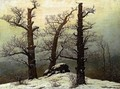 Dolmen In The Snow - Caspar David Friedrich