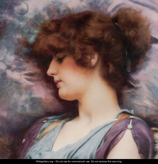 Far Away Thoughts - John William Godward
