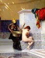 Turkish Bath Or Moorish Bath Two Women - Jean-Léon Gérôme