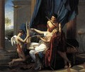 Sappho and Phaon 1809 - Jacques Louis David
