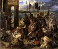 The Entry of the Crusaders into Constantinople 1840 - Eugene Delacroix