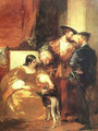 Francis I And The Duchess Of Etampes - Richard Parkes Bonington