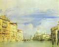 Venice The Grand Canal - Richard Parkes Bonington