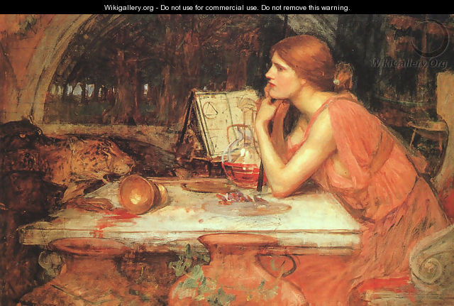 The Sorceress - John William Waterhouse