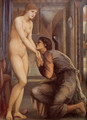 Pygmalion And The Image: IV The Soul Attains [detail] - Sir Edward Coley Burne-Jones