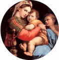 The Madonna Of The Chair - Raphael